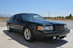 1986 Lincoln MK 2 LSC Limited