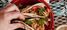Braised-Pork Tacos - William Sonoma sous chef series