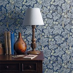 The Original Morris & Co - Arts and crafts, fabrics and wallpaper designs by William Morris & Company | Products | British/UK Fabrics and Wallpapers | Bramble (DM3W214695) | Archive III Wallpapers