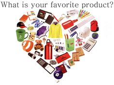 We want to hear from you! What is your favorite product?  #favorite #promotionalproducts