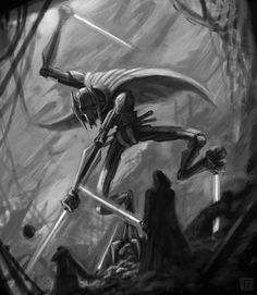 Star Wars-General Grievous by VegasMike.deviantart.com on @deviantART