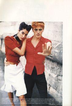 fashion_screen: Blast from the past: Carine Roitfeld