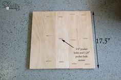 bar stool plank top