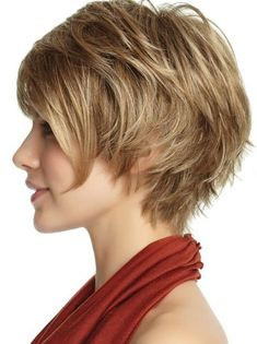40 Cute and Easy-To-Style Short Layered Hairstyles - Hairstyle Inspirations for 2019 - Short Pixie Cuts Curly Hair With Bangs, Curly Hair Cuts, Cute Hairstyles For Short Hair, Short Hair Cuts, Curly Hair Styles, Pixie Cuts, Short Pixie, Blonde Hairstyles, Braid Hairstyles