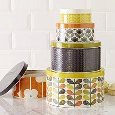 Orla Kiely cake tins
