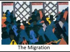 Jacob Lawrence: The Migration Series - YouTube. Video, 6:36. The Migration of the Negro, Panel no. 49. Jacob Lawrence. 1940–1941 C.E. Casein tempera on hardboard.