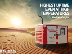 TMTL Engines-Eicher Engines gensets have the highest uptime even in sweltering heat, making it a robust backup you can always rely on. Power Generator, Emergency Power, Old Names, Corporate Communication, Existing Customer, Instant Messaging, Water Cooling, Corporate Brochure
