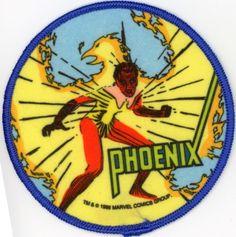 Vintage Marvel Comics Super Heroes Cloth Patch of Phoenix Mint | eBay