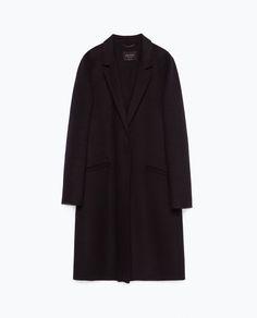 WOOL COAT-Coats-Outerwear-WOMAN | ZARA United Kingdom