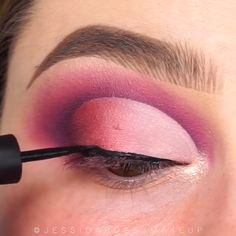 Glam Eye Make-Up Tutorials! - Make-up Beauty Makeup Tips, Makeup Goals, Makeup Inspo, Makeup Inspiration, Beauty Hacks, Glam Makeup, Diy Makeup, Beauty Care, Dark Eyeshadow