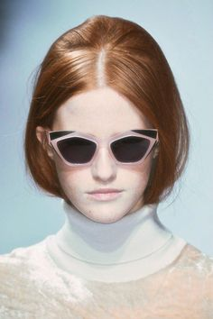 Look and Sunglasses : Nina Ricci / Fall 2014 RTW / LOOK 26