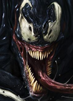 Venom-Most realistic one I've seen yet.
