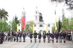 Rancagua recibe los cinco estandartes perdidos en la histórica Batalla - Diario El Rancagüino