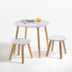 eec75145b8b8f6 Table et 2 tabourets enfant Jimi La Redoute Interieurs Tabouret Enfant, Armoire  Enfant, Chambre