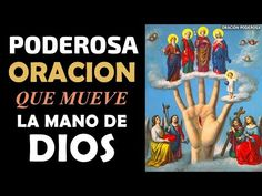 La Poderosa Oración que Mueve la Mano de Dios - YouTube Religion, Youtube, Blessed Mother, Names Of Jesus, Blood Of Christ, Youtubers