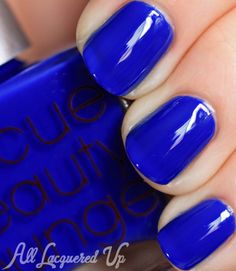 Rescue Beauty Lounge IKB: 2012 aka the craziest cobalt blue nail polish on planet earth and impossible to find :-(