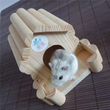 Mini belleza suministros de hámster hámster nido lindo sala para mascotas pequeñas divertido juguete Hamster(China (Mainland))