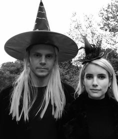 NEW | Happy Halloween 2017! Evan and Emma channel Coven's Witches this year! Follow rickysturn/evan-peters