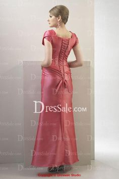 Elegant Bridesmaid Dress with Side-drapes and Ruches, Quality Unique Bridesmaid Dresses - Dressale.com