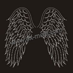 angel wings pattern free Embroidery - Google Search