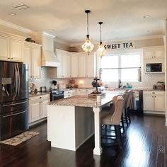 Kitchen Living Rooms Moriann Counter Height Bar Stool (Set of Light Beige - Kitchen On A Budget, Kitchen Living, New Kitchen, Kitchen Decor, Kitchen Ideas, Beige Kitchen, Kitchen Craft, Awesome Kitchen, Kitchen Tips
