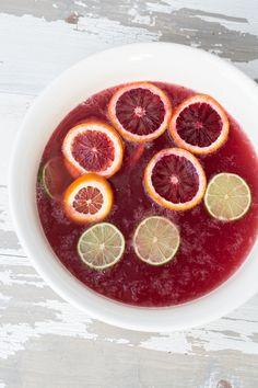 Recipe File: Blood Orange Punch