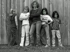 Group of neighborhood kids