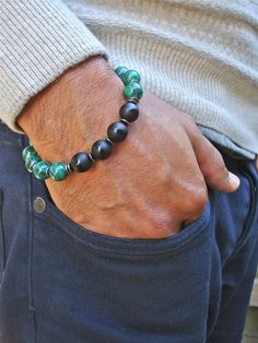 Men's Spiritual Healing and Negativity Protection by tocijewelry