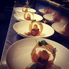 #tunatataki #tataki #tuna #fishdish #sesame #cucumber #sweetsour #teriyaki #quailegg #crispy #food #foodie #dish #cook #cooking #masterchef #koken by adrievaneekelenn
