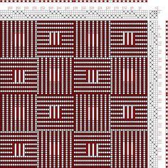 Resultado de imagen de Weaving Drafts 4 Shaft Overshot