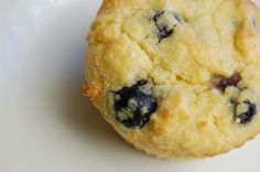 SCD Blueberry Breakfast Muffins (*Substitute baking soda + 1 tsp lemon juice for baking powder...)