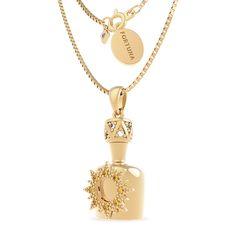 Marina Zardo fortune necklace #secretjewellery #gold #marinazardo #jewellery #necklace