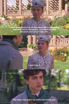 little women quotes scenes amy laurie florence pugh timothee chalamet Woman Movie, Movie Tv, Film Quotes, Book Quotes, Little Women Quotes, Florence Pugh, Louisa May Alcott, Romantic Movies, Romantic Quotes