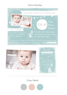 A business stationery package for business cards and promotional flyer / magazine advert