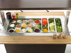 Your Perfect Summer Superfood Salad  I am so lucky to have a salad bar in my building at work!