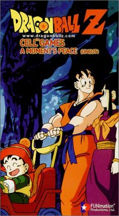 Dragon Ball Z - Cell Games - A Moments Peace (Uncut) [VHS] @ niftywarehouse.com #NiftyWarehouse #DragonBallZ #DragonBall #Anime #Show #Comics #TV #Cartoon