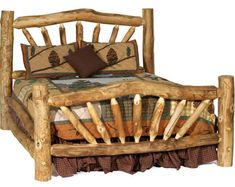Log Cabin Rustics offers one of the largest selections of log furniture, reclaimed barn wood furniture, and other rustic furniture and cabin decor anywhere. Handcrafted, affordable discount sale prices and proudly made in America. Rustic Bedroom Furniture, Cabin Furniture, Rustic Bedding, Furniture Decor, Furniture Design, Furniture Plans, Antique Furniture, System Furniture, Modern Furniture