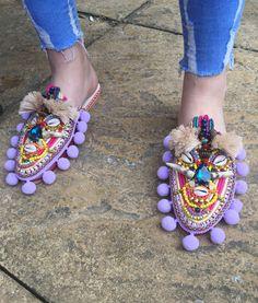 Odina slippers by Anita Quansah London