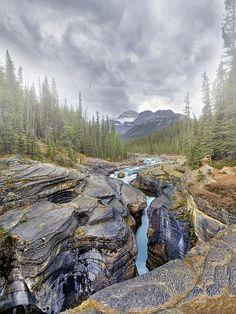 Mistaya Canyon - Banff, Canada