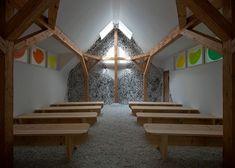 Vatican City presents woodland chapels built by famous architects