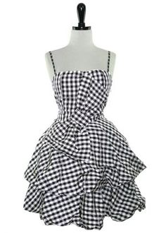 The Scene Queen Pump Up The Volume Dress :  gingham ...