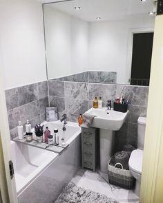 Loft Bathroom, Diy Bathroom Decor, Bathroom Layout, Bathroom Interior, Small Bathroom, Grey Bedroom Design, Room Interior Design, Modern Bathroom Design, Silver Living Room