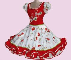 Huasa chilena, Vestidos de china! Baby Girl Dresses, Baby Dress, Pretty Dresses, Beautiful Dresses, Clogs Outfit, Western Dresses, Fashion Outfits, Womens Fashion, Looking For Women