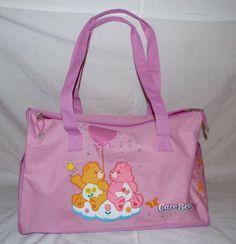 Care Bear Pink Duffle Bag