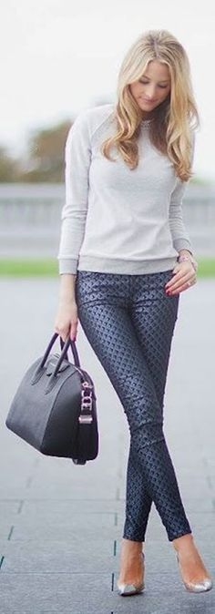 40 Cute Pant Outfits For Girls to Try | http://fashion.ekstrax.com/2014/07/cute-pant-outfits-for-girls-to-try.html