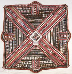 Uncommon Patience or Useless Work? Old Quilts, Antique Quilts, Vintage Textiles, Vintage Quilts, Postage Stamp Quilt, Quilting Designs, Quilting Ideas, Oldies But Goodies, Needle And Thread