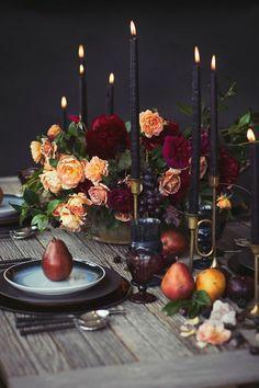 tischdeko hochzeit heiraten im herbst hochzeit im oktober vertraut