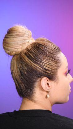 Easy Hairstyles For Long Hair, Hairstyles For School, Cute Hairstyles, Hair Yarn, Sport Hair, Cabello Hair, Runway Hair, Hair Upstyles, Long Hair Video