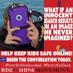 Do you find protecting your kids online an overwhelming endeavor? Here's an article we hope will help. There's really no reason for a minor to have filterless access to the internet these days. Check out our post by clicking the pic... #childabusepreventionmonth #protectkidsonline