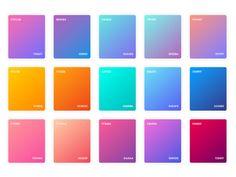 Adobe XD Gradients Color Style - Freebie Supply